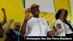 Domingos Simões Pereira, antigo primeiro-ministro e presidente do PAIGC, depois da primeira volta das eleições presidenciais, 27 novembro 2019 Bissau.