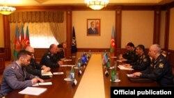 Zakir Həsənov NATO-nun Beynəlxalq Hərbi Qərargahının baş direktoru ilə görüşüb