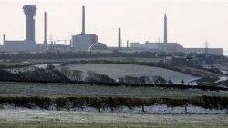 منظره ای از تاسیسات اتمی سلافیلد در بریتانیا