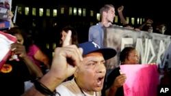非洲裔美国人对齐默曼的无罪裁决表示愤怒