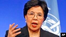 Margaret Chan, shugabar Hukumar Kiwon Lafiya ta Duniya, WHO