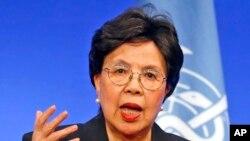 世衛組織總幹事陳馮富珍(資料圖片)