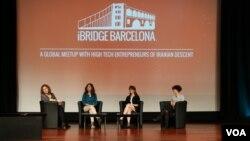 از راست: زهره الهیان، الناز صراف، سارا احمدیان و انوشه انصاری