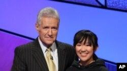 Monica Thiều là sinh viên thắng giải trẻ nhất trong lịch sử Jeopardy College Championship