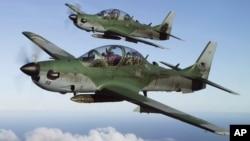 نمونۀ از طیاره هایی که قرار است تابستان آینده در دسترس سربازان افغان قرار گیرد