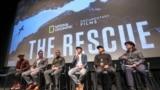 The Rescue Film unveils in Thai Community Los Angeles,CA. Oct 9, 2021.