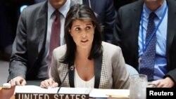 نیکی هیلی نماینده آمریکا در سازمان ملل متحد - آرشیو