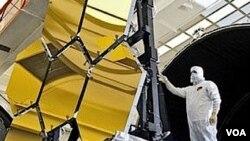 El telescopio estará equipado con tres cámaras infrarrojas, más sensibles que nunca, y un espejo primario formado por 18 segmentos hexagonales.