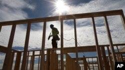 Nhà mới đang được xây ở Chula Vista, California, Hoa Kỳ