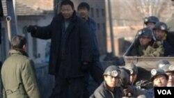 Para pekerja tambang batu bara di Tiongkok (foto ilustrasi).