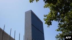 纽约的联合国大楼