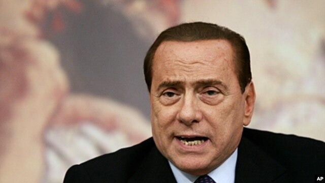Italian Premier Silvio Berluconi (file photo)