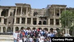 گروه کاری انجنیران، مهندس ها و کارمندان تخنیکی پروژۀ بازسازی قصر دارالامان