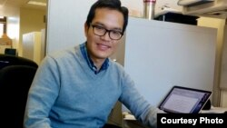 "Rana Sowath is a doctoral candidate at University of Minnesota. He joined by phone to discuss ""Human Resources Challenges for Cambodia in Asean Community"" on Hello VOA ""Asean Corner"" Thursday, December 3, 2015. (Courtesy photo)"