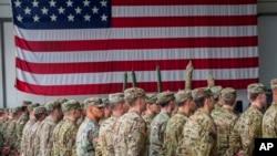 سربازان امریکایی در مارچ ۲۰۱۷ به سوریه اعزام شدند. (عکس از آرشیف)