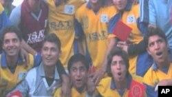 بھارتی کشمیر میں نوجوانوں کی فٹبال ٹیم