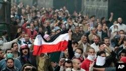 이집트 카이로의 대규모 反정부 시위대