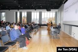 Một phiên thảo luận tại hội thảo về chủ nghĩa cộng hòa ở Việt Nam; ĐH Oregon, 14/10/2019