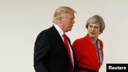 Thủ tướng Anh May mời Tổng thống Mỹ Trump thăm khi bà đến Washington tháng 1/2017