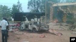 نائیجریا: خودکش کار بم حملے میں 3 ہلاک