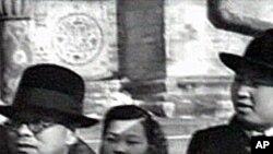 1949년 3월 김일성과 함께 소련을 방문한 박헌영 (왼쪽)