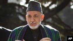 阿富汗總統卡爾扎伊(資料圖片)