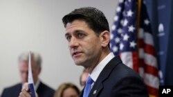 Ketua DPR AS Paul Ryan.