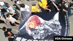 九萬香港市民遊行反對設立洗腦國民教育科
