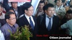 ရခိုင္အမ်ဳိးသားေခါင္းေဆာင္ ဦးေအးသာေအာင္ နဲ႔ ဦးေအးေမာင္ (Photo from Rakhine CJ FB)