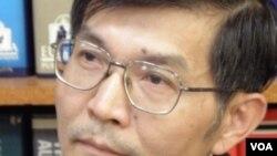 台湾外交部亚太司副司长苏启诚(美国之音申华拍摄)