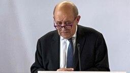 Ngoại trưởng Pháp Jean-Yves Le Drian.