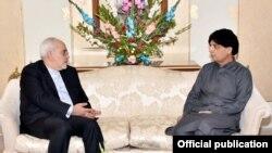 ایرانی وزیر خارجہ نے گزشتہ ہفتے پاکستانی وزیر داخلہ سے ملاقات کی تھی