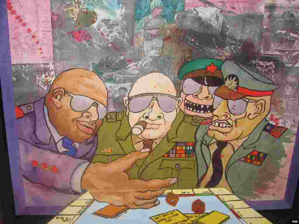 карикатуры Скотта Нейштадта «Игры войны»