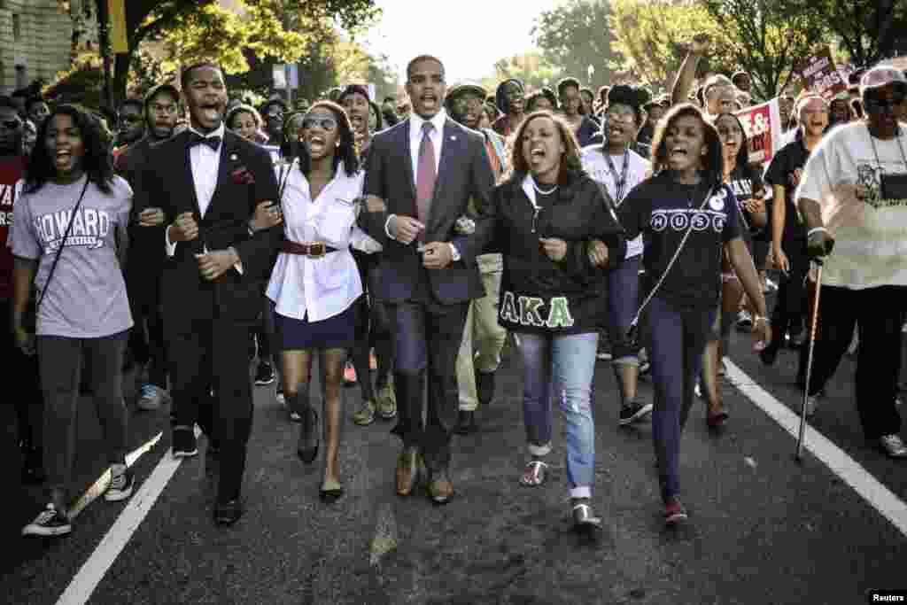 اگست 1963ء واشنگٹن میں مارٹن لوتھر کنگ نے بنیادی حقوق کی ایک ریلی نکالی جسے اب پچاس سال ہو گئے ہیں.