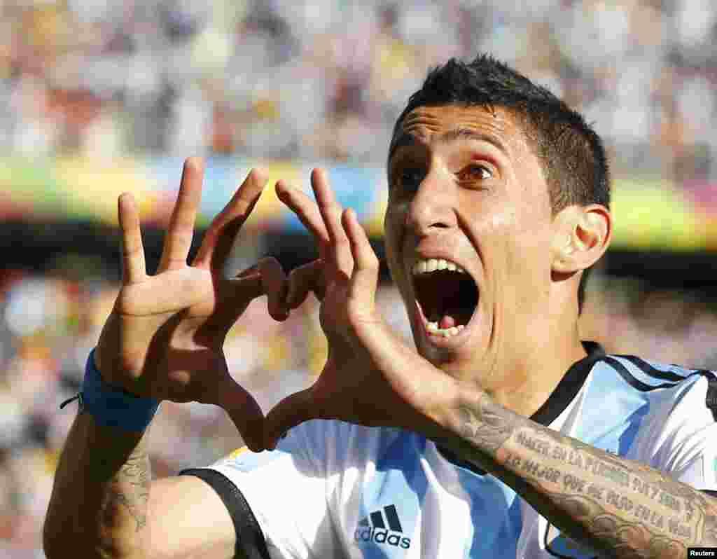 گولڈن بال کے لیے نامزد کھلاڑیوں میں ارجنٹائن کے اینجل ڈی ماریا بھی شامل ہیں۔