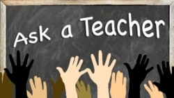 Ask a Teacher: Well or Good?