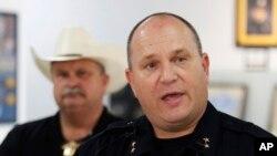 Michael Gerke, jefe de policía de Odessa, Texas.