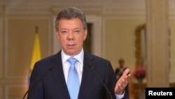 Una encuesta encontró que el presidente Juan Manuel Santos ganaría la primera vuelta.