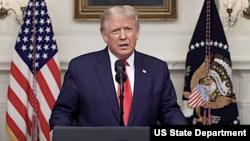 Trump UNGA Maison Blanche