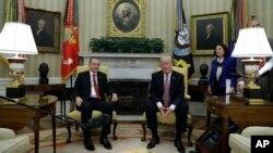 Дональд Трамп и президент Турции Реджеп Тайип Эрдоган