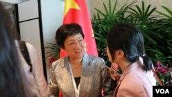 中国代表团发言人、中国军事科学院退役少将姚云竹