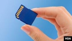 Con tamaños cada vez más pequeños y costes de produccion en disminución, las tarjetas de memoria prometen ser el futuro.