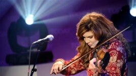 In this photo provided by NBC, recording artist Alison Krauss performs on the