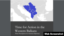 Time for Action in the Western Balkans, izvještaj