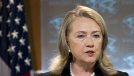 Secretary of State Hillary Rodham Clinton (file photo)