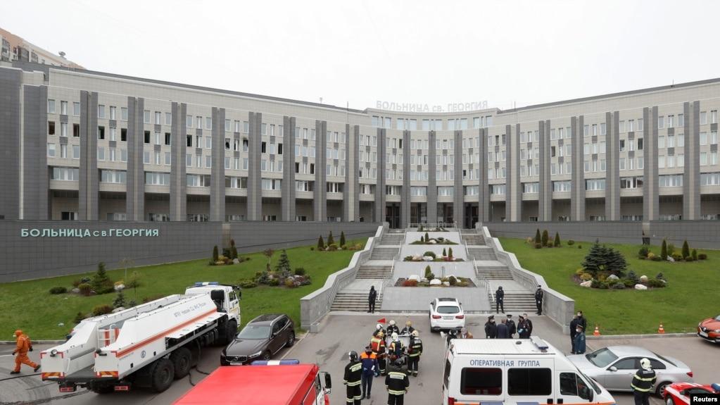 Одна из больниц Санкт-Петербурга (архивное фото)