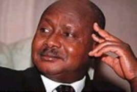 Yoweri Museveni, whose third term is due to expire in 2011, is raising questions about Uganda's international position if parliament imposes the death penalty for homosexual behavior.