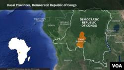 Ikarata y'intara ya Kasai, muri RDC
