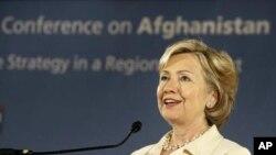 عزیمت هیلری کلنتن به جنوب آسیا برای شرکت در کنفرانس افغانستان