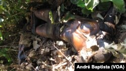 Corpos encontrados por camponeses perto da Gorongosa